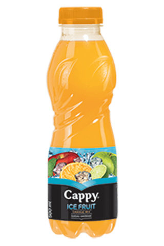 Cappy ice fruit narancs mix